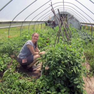 Raising The Hoop House