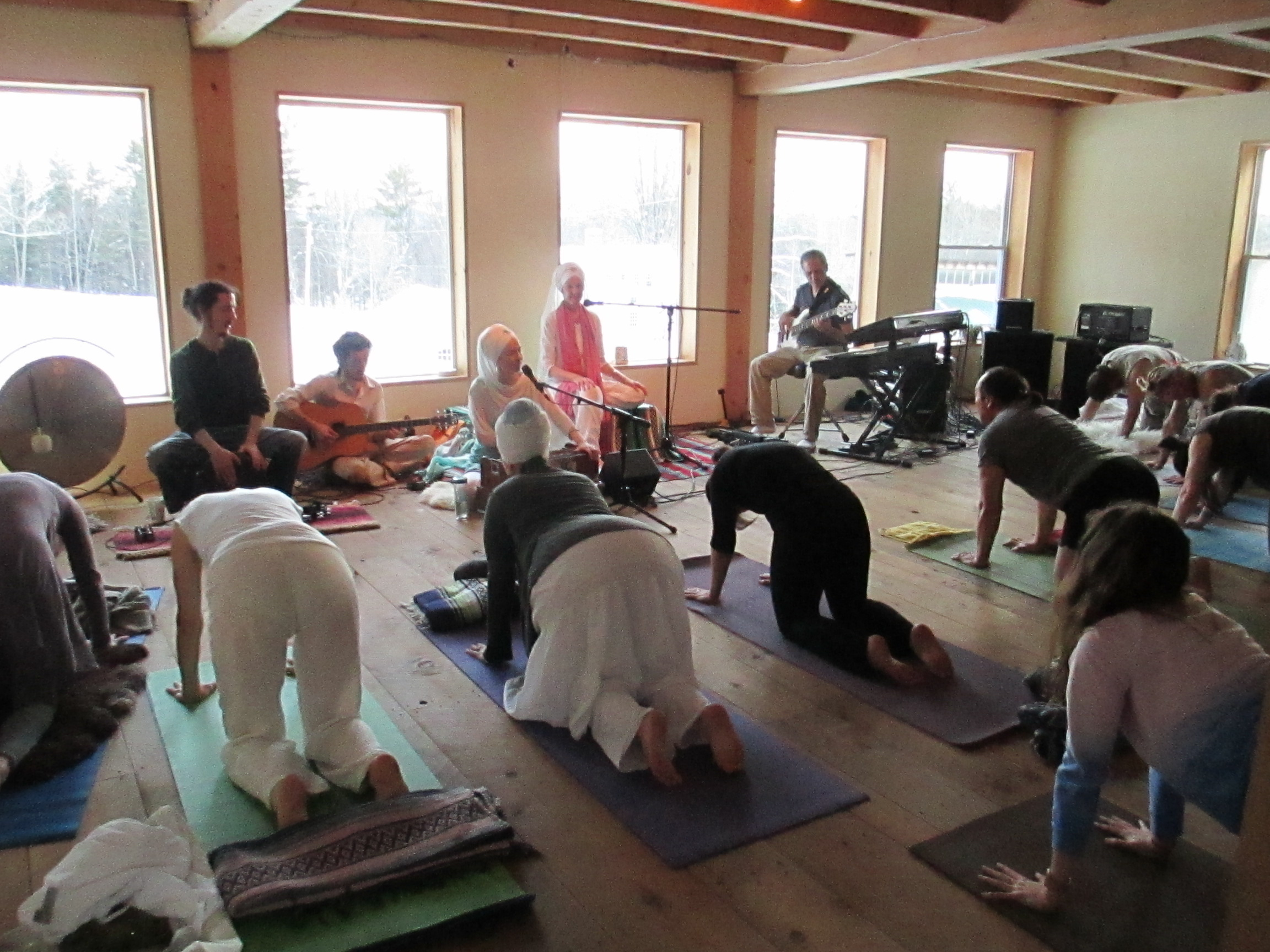 Yoga Class With Music